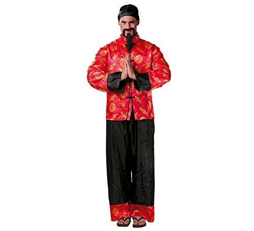Imagen de disfraz de chino mandarín para hombre adulto