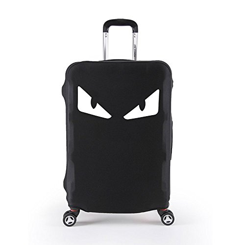 Elastico Cover Proteggi Valigia, Copri Valigia Anti-Polvere Copertura Per Valigia Elastico Tessuto proteggi valigie (occhi mostro, XL)