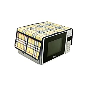 Amazin Homes PVC Printed Microwave Oven Half Closure Cover for 20 Litre(Multicolor)