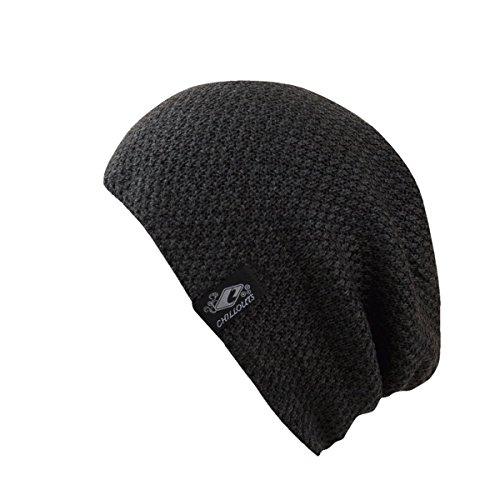 CHILLOUTS Erwachsene Mütze Osaka Hat, Grey, One Size, 4436
