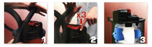 Lavor Auto Clean 230 V Autosauger, KFZ-/PKW- Staubsauger, Mini Kesselsauger - 4