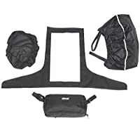 New Drive Medical Accessory Pack For Mobility Scooters - Tiller Cover, Basket Liner & Lid Plus Small Bag