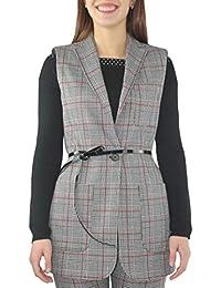 Amazon.it  Liu Jo Jeans - Gilet   Giacche e cappotti  Abbigliamento 95d326ad46c