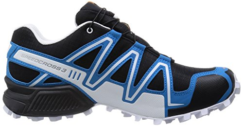 Salomon Speedcross 3 Gtx, Salomon Speedcross 3 GTX Dark Khaki Black Iguana Green 43 homme Black/Black/Silver Metallic-X