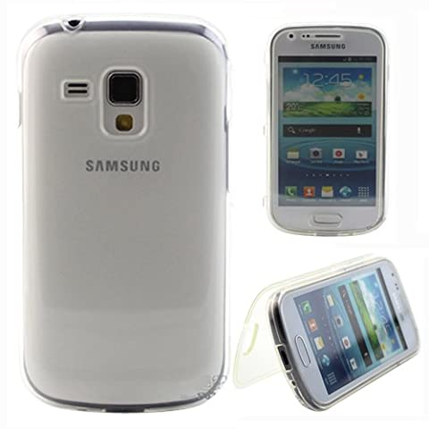 Transparent TPU Housse Coque Folio Silicone Gel pour Samsung Galaxy Trend GT-S7560 / Galaxy S Duos S7562