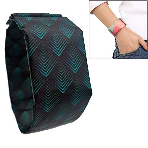 und Damenuhren, Diamant-Muster-kreative Art- und Weisewasserdichte Papier-Uhr Intelligente Papier-elektronische Armbanduhr ()