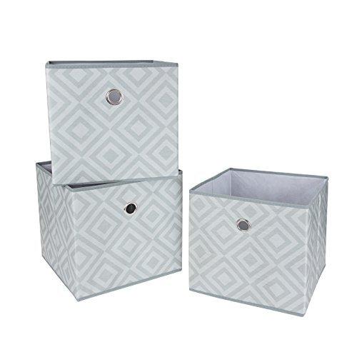 pieghevoli-in-tessuto-scatole-cubes-grigio-diamond-3-pack