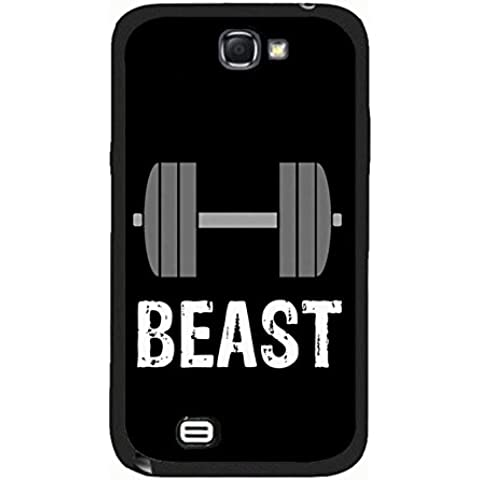 Samsung Galaxy Note 2 N7100 Best Friends Lovers Case Cover Magic Exquisite Barbell Design Beast Couple Phone Case Cover Customized Shell for Samsung Galaxy Note 2 N7100