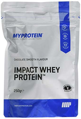 MY PROTEIN Impact Whey Protein Smooth Supplement, 250 g, Chocolate