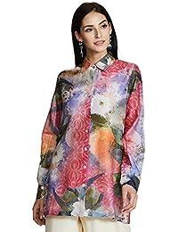 AL - Indian Luxury Women's Silk Shirt Kurta