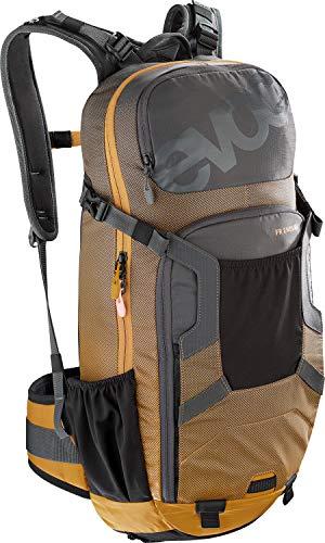 EVOC Sports GmbH FR Enduro Protektor Rucksack, Carbon Grey/Loam, M/L