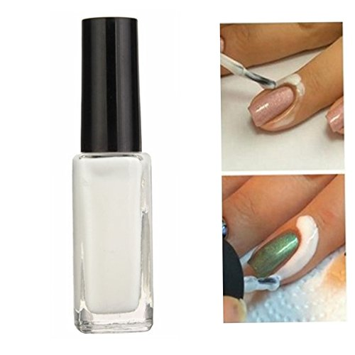 Bluelover Peel Off Nail Polish Klebstoff Latex Anti-Überlauf Schmieren Fett Finger Liquid Tape Haut Geschützt - Latex-klebstoff