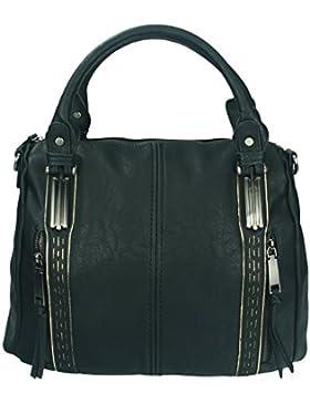 Betz Schultertasche Henkeltasche Umhängetasche Frauen Handtasche Tasche mit Reißverschluss Damen Shopper LONDON 1