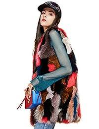 Downcoat El Chaleco Lujoso De Las Mujeres Remiendo/Invierno/Alta Moda, Esquí/