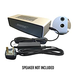 Replacement Bose 12V / 12 Volt Battery Charger Adapter Adaptor Power Supply Cord for Companion 2 Series II and III, Lifestyle 12, 20, 25, 40, SoundLink Mini, SoundDock XT Bluetooth Speaker