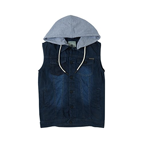 Gini & Jony Boys' Jacket (121246516241 5000_DX Wash_7 - 8 years)