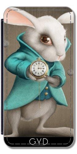 Custodia in silicone per Iphone 7 / Iphone 8 - Coniglio Bianco by GiordanoAita Simili-Cuir