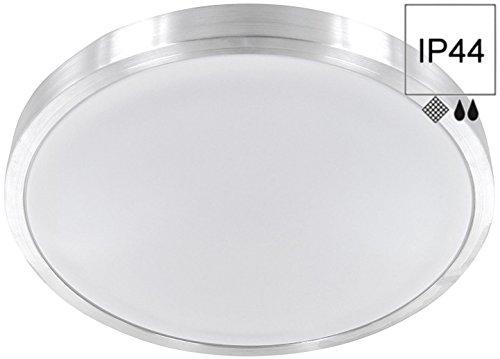 LED 12W aluminio–Lámpara plafón de baño...