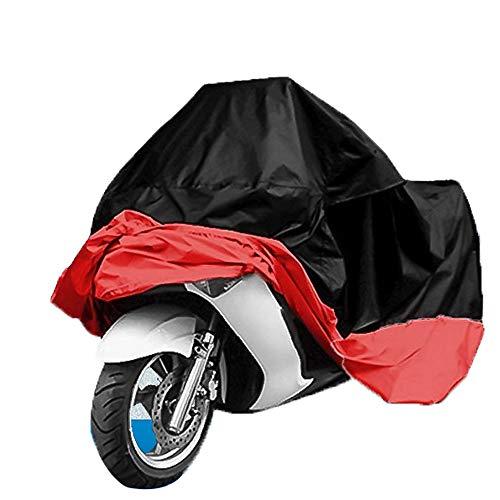 WHL Motorradabdeckung, im Freien Motorradbekleidung Elektroauto Abdeckung Roller regensicher Sonnencreme,A,XXXL