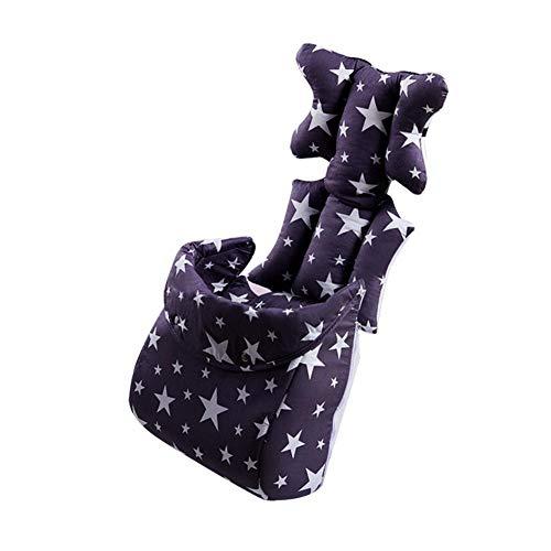 Hochstuhl Pad Kinderwagen Kinderwagen Kissen Kinder Stern Abnehmbare Winddichte Abdeckung Infant Warm Verdickt Atmungsaktiv Universal Fitting Trolley Pads