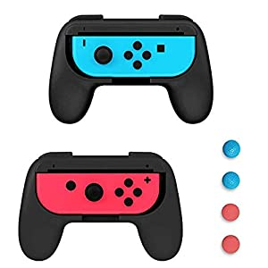 Voroar Joy Con Grip, 2 StüCk Joy Con HüLle für Nintendo Switch Joy-Con Gaming Controller, Rot/Blau