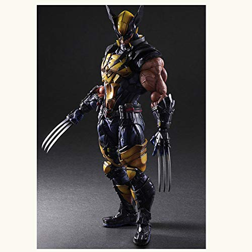 Plus Series Transformer (ARTFX Plus Statue X-Men Hero Series Spielzeug Actionfiguren Wolverine Actionfiguren Beweglich,Gelenk Beweglich,26CM,Wolverine)