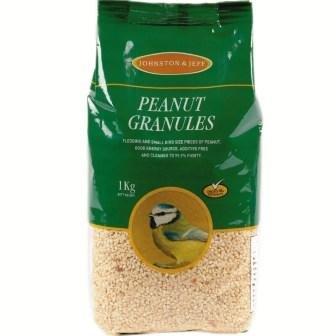 Johnston & Jeff Peanut Granules Wild Bird Treat, 12.75 kg by Johnston & Jeff