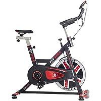 Preisvergleich für FitBike Indoor Cycle Race Magnetic Basic - 20 kg Schwungrad - Poly V-Riemen und Magnetisches Widerstandssystem - Mit Trainingscomputer - Spinning Fahrrad