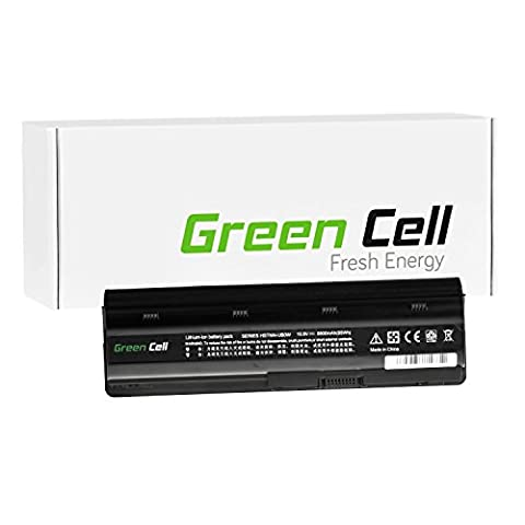 Green Cell® Extended Série Batterie pour HP Pavilion G6-1311SE Ordinateur PC Portable (12 Cellules 8800mAh 10.8V Noir)