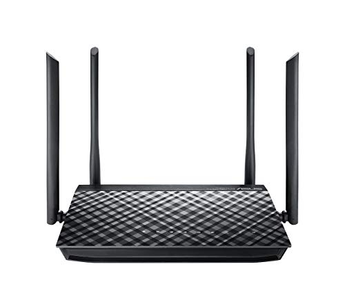 ASUS RT-AC1200G+ - Router inalámbrico AC1200 Doble Banda Gigabit (USB 2.0, modo...