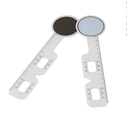 TYKusm Optisches PD Lineal für Pupillendistanzmesser/Augenwerkzeug