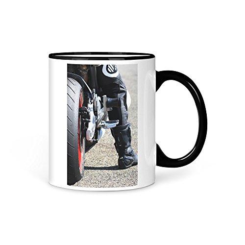 aina Tasse Kaffeetasse Motorrad Race Yamaha Suzuki