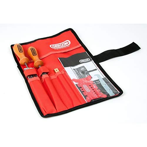 Schärfsatz Oregon in Tasche 4,5mm für Sägeketten in 3/8 Zoll Teilung Nut 1,1mm
