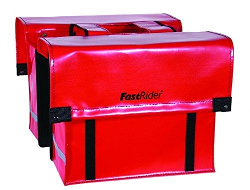 fast rider fahrradtaschen Fastrider Fahrrad Cargo Doppelpacktasche LED