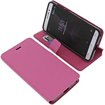 Funda para Cubot P12 (z100) estilo libro rosa protectora