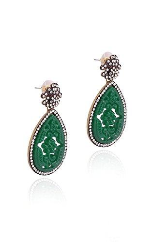 sempre-von-london-der-designer-stuck-hohe-qualitat-grun-glory-sparkling-18-k-antik-vergoldet-ohrring