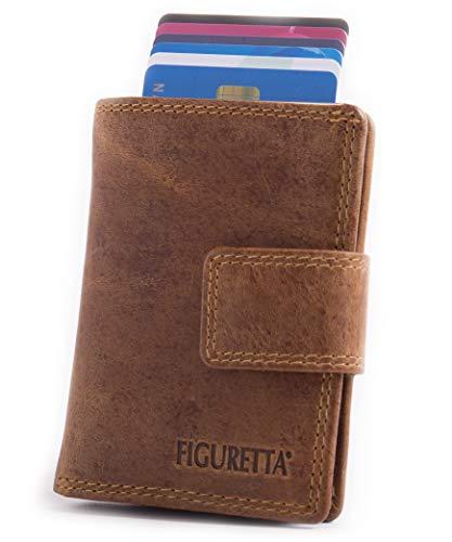 2897964d2f Caratteristiche ed informazioni su figuretta porta carte di credito in  pelle con porta banconote e portamonete - portafoglio sottile ...