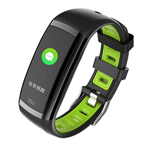 Ediand Smart Armband Farbbildschirm Herzfrequenz-Blutdruckmessgerät Schrittzähler Sport Wasserdichte Intelligente Erinnerung Armband