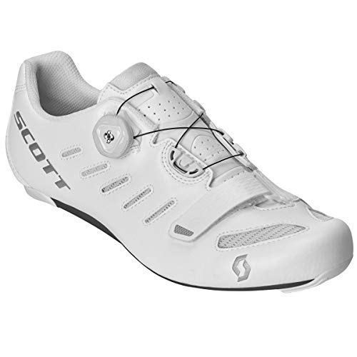 Scott Road Team Boa Rennrad Fahrrad Schuhe weiß 2019: Größe: 44