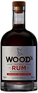 Woods Old Navy Rum, 70 cl