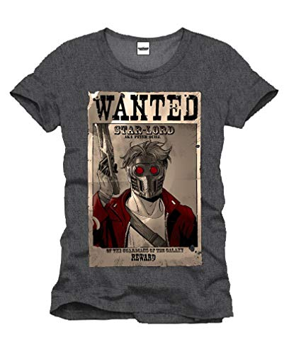 Horror-Shop Star Lord Wanted T-Shirt S
