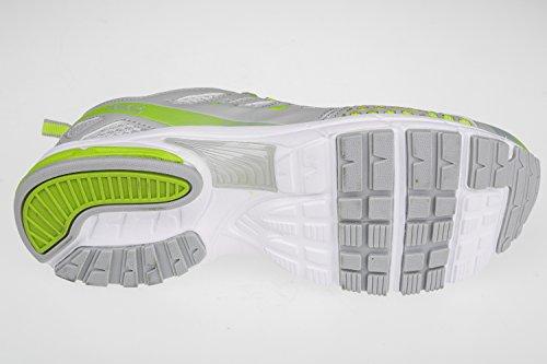 Gibra , Baskets pour homme Gris - Grigio / Verde Neon
