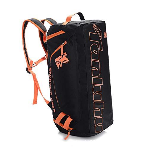 Reiseaufbewahrungstasche außenreisetasche handgepäcktasche Reisetasche Fitness unabhängige schuhlager schwarz orange bar *. * - Fitness-bar Maximale