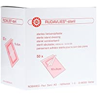 Rudavlies Steril Wundschnellverband 10 x 8 Centimeter (cm) 50 Stück preisvergleich bei billige-tabletten.eu