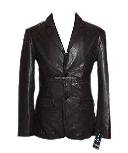 slim-jim-marron-hommes-de-style-classique-smart-veste-blazer-en-cuir-de-mouton-marron-petit