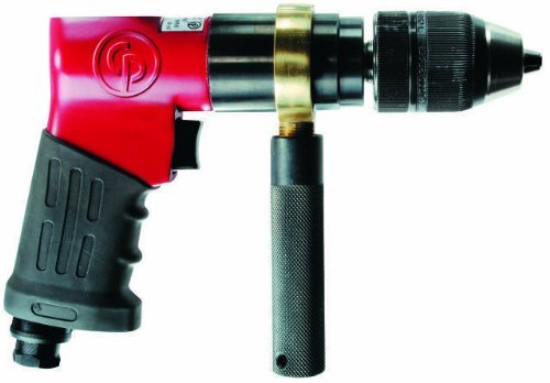 Chicago Pneumatic CP9791 Heavy Duty 1/2-Inch Reversible Drill, Keyless Chuck by Chicago Pneumatic