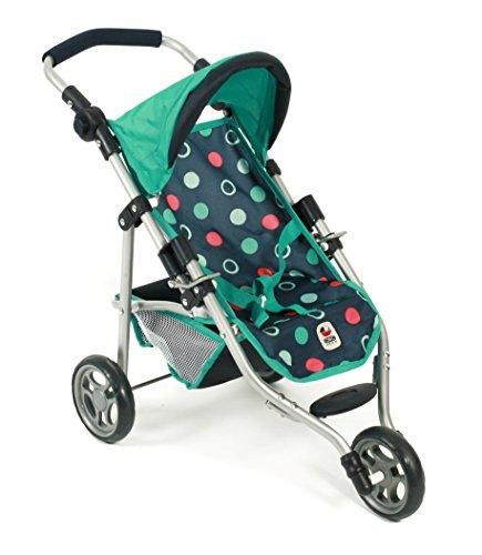Preisvergleich Produktbild Bayer Chic 2000 612 21 - Jogging-Buggy Lola, Puppenwagen, Menta, navy/mint