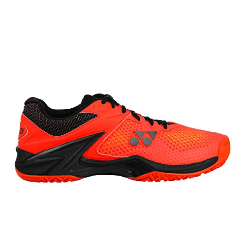 Yonex Herren Power Cushion Eclipsion 2 Tennisschuhe Allcourtschuh Orange - Schwarz 46