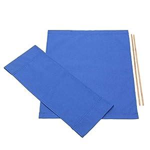Winbang Stuhlbezüge, Canvas-Ersatzbezug für Direktoren für Stühle (Blau)
