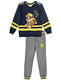 d0ab038520feb Paw Patrol Official Licensed Boys Tracksuit Outfit Set Zipped Jumper and  Joggers - Chase